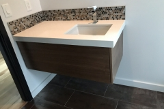 Floating Vanity Offset Drawer