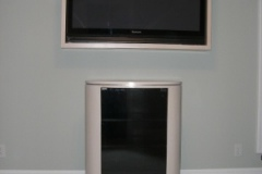 Oval Component Cabinet