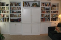 Painted White Wall Units