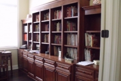 Stained Alder Wall Unit