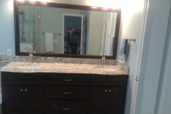 Vanity with Custom Mirror