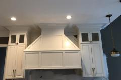 White Paneled Hood